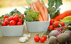 A variety of fruits and vegetables are key to nutrient-rich diet.