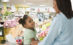 Involve your children in the food shopping and meal preparation process.