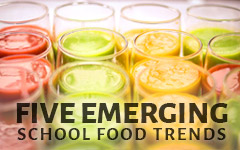 emerging school food trends